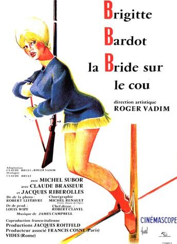 LA BRIDE SUR LE COU - BOX OFFICE BRIGITTE BARDOT 1961