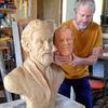 JL Ficat sculpteur du nouveau buste