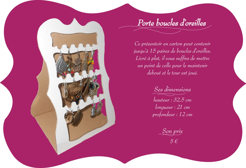 Porte Boucles D Oreilles The London Project