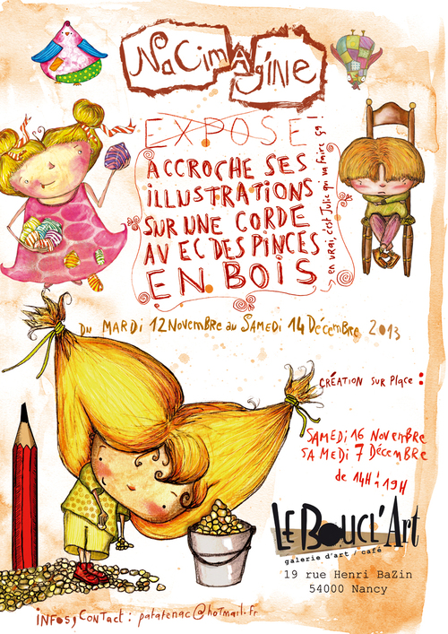 NaCimag'INE au BOUCL'Art à Nancy