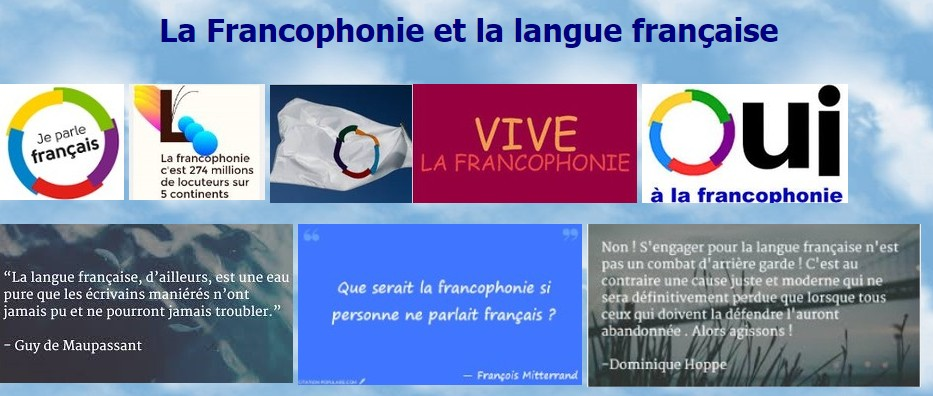 Francophonie citations :