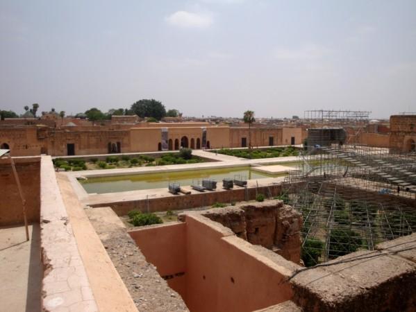 Palais El-Badi les terrasses 8
