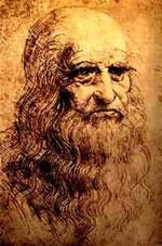 Léonard de Vinci - Autoportrait