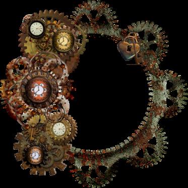 Tubes Steampunk-Cluster-Frame
