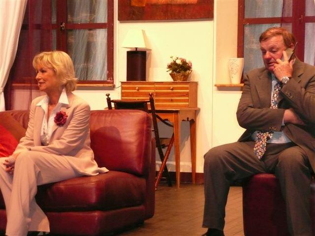 Samedi 13 juin 2009, direction Forges les Eaux pour une pièce comique : Le Canard à l'Orange