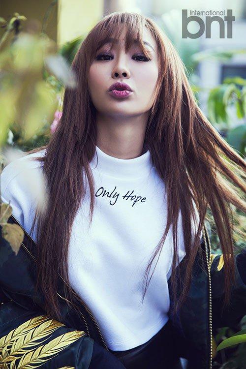 Hyo Rin pour bnt International