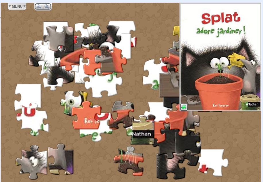 puzzle spalt