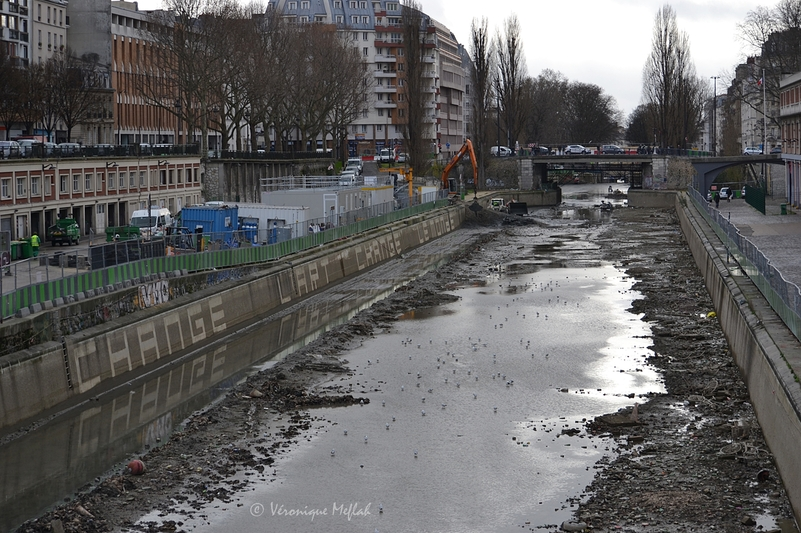 Le canal Saint-Martin poursuit sa campagne de rénovation