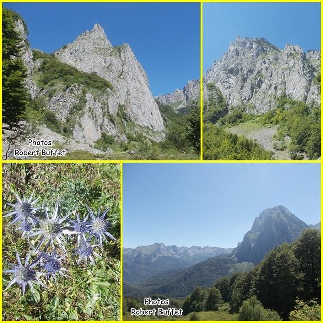 Plateau de Sanchès et refuge de l'Abérouat