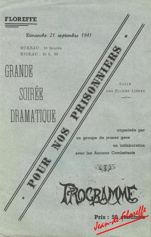 10. Soirée dramatique (21 sept. 1941)