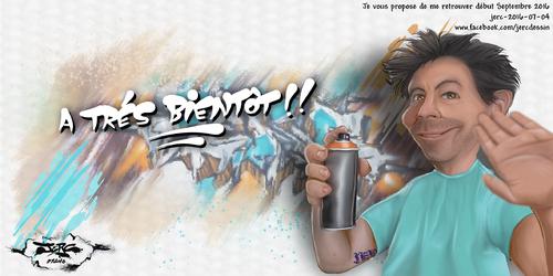 JERC 2016-07-04, caricature Jerc.  retour des illustrations quotidiennes au mois de septembre 2016. www.facebook.com/jercdessin Cliquer sur la photo pour voir en plus grand