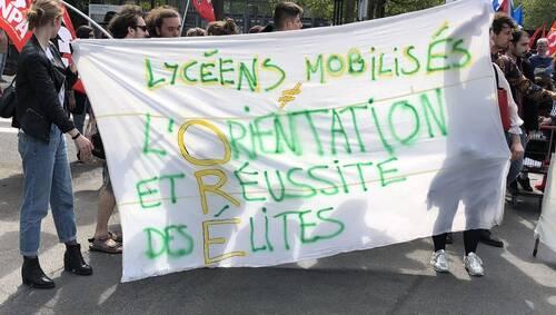 Brest. Le lycée de l'Harteloire bloqué ce mardi matin (OF.fr-22/05/2018-12h50)