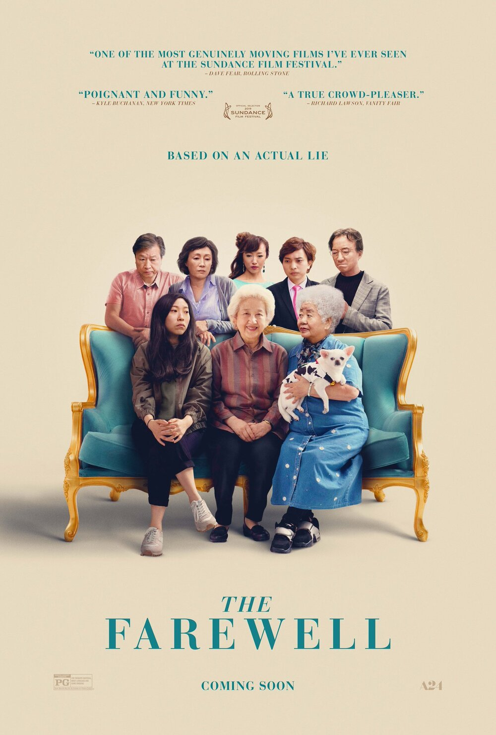 Bie Gaosu Ta / The Farewell (2019)
