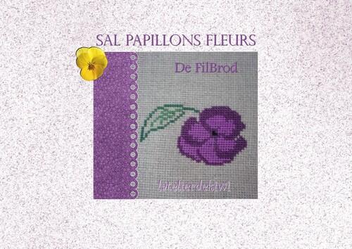 Sal papillons fleurs 1