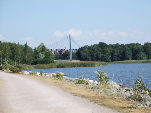 Helsinki: le quartier d' Arabia