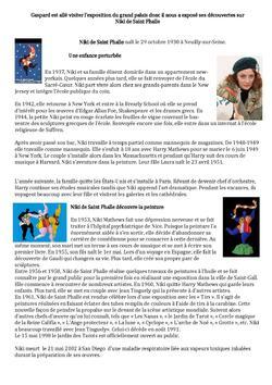 Arts - Niki de Saint Phalle