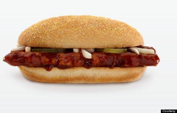 la vérité sur la McRib Fast Food McDonalds