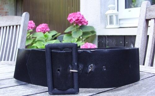 Customisation sur une ceinture