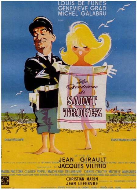 LE GENDARME DE SAINT TROPEZ - BOX OFFICE LOUIS DE FUNES 1964