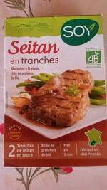 Test Seitan en sauce SOY