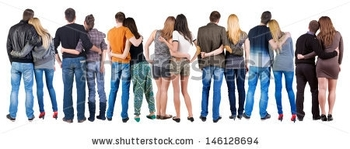 stock-photo-back-view-group-of-couple-rear-view-people-pair-collection-backside-view-of-person-isola