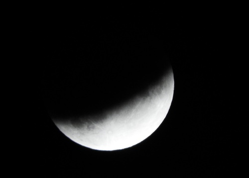 ... l'éclipse...