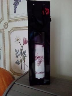 tablier de bouteille: GRAND CRU