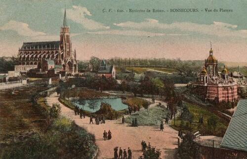 Rouen Basilique Notre-Dame de Bonsecours