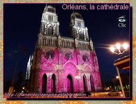 Orléans, ambiance fin d'année: La Cathédrale