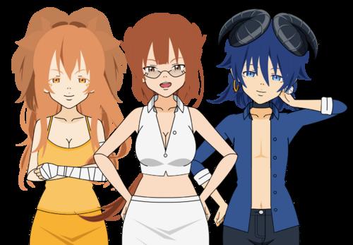 Des nouveaux personnages 8D