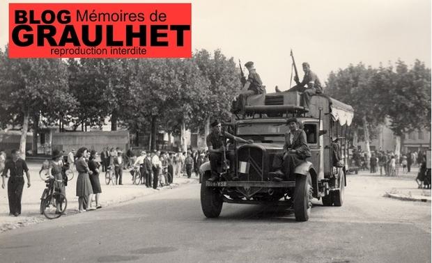 - 1944 - Les obsèques des maquisards