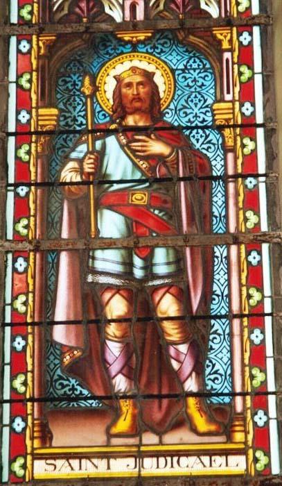 Saint Judicaël, Roi de Bretagne puis moine (+ 658)