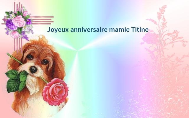 cadeau pour mamie Titine