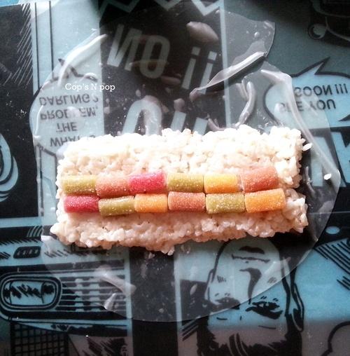 Suchis et makis sucrés aux bonbons!