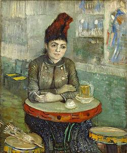 Van Gogh une femme assise