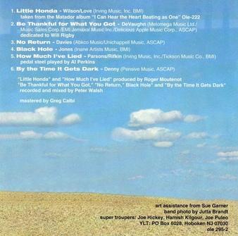 Les SINGLéS : Yo La Tengo - Little Honda (1998)