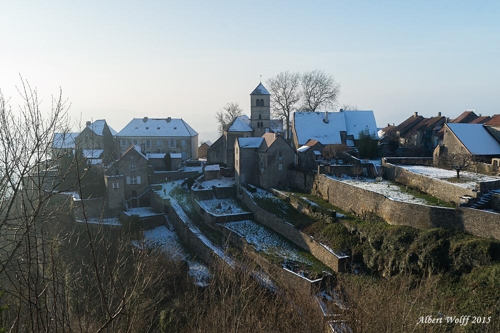 Loin du tumulte : Château-Chalon.- Part 2 et fin