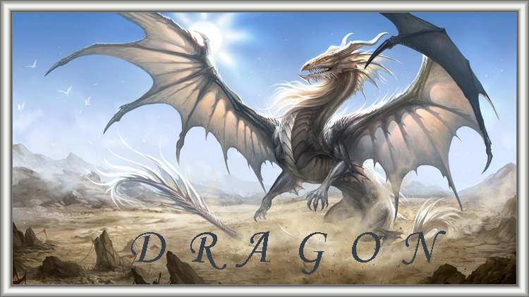 Le grand almanach de la France : Le dragon