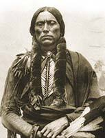 The History of Native American Tribes. Comanche chief