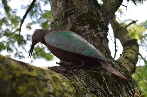 ...oiseau de fer...!