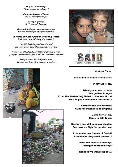 Slam pour Slum