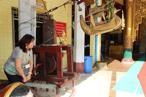 Rangoon, la pagode Sule