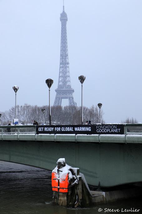 La Seine du Pont Alexandre III au zouave du Pont de l'Alma, Paris