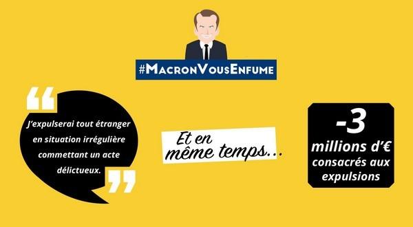 Le jeunot Macron nous enfume et nous la met bien profond!
