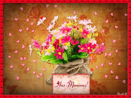 """Bouquet Musical destiné """"Aux Mamans"""""""
