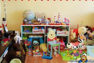 Jouer à Messy toys room - Hidden objects