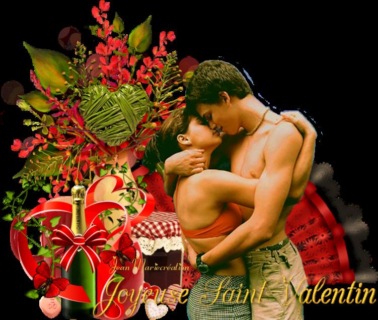 Joyeuses Saint Valentin(Copyright numéro de dépôt c97634 )
