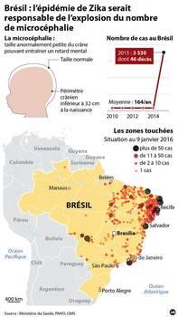 L'épidémie de Zika au Brésil s'est répandue dans le pays