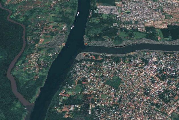 Brésil / Paraguay / Argentine