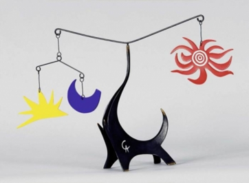 Calder, mobiles et coopération.